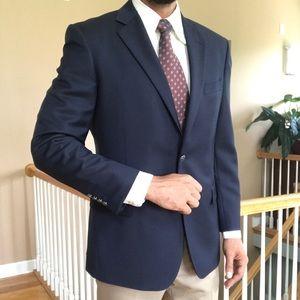 New Brooks Brothers 346 Metal Button Wool Blazer